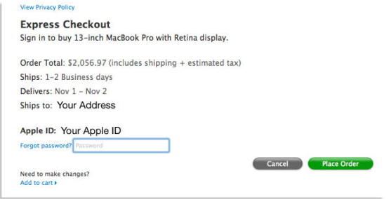 Apple_Express_Checkout
