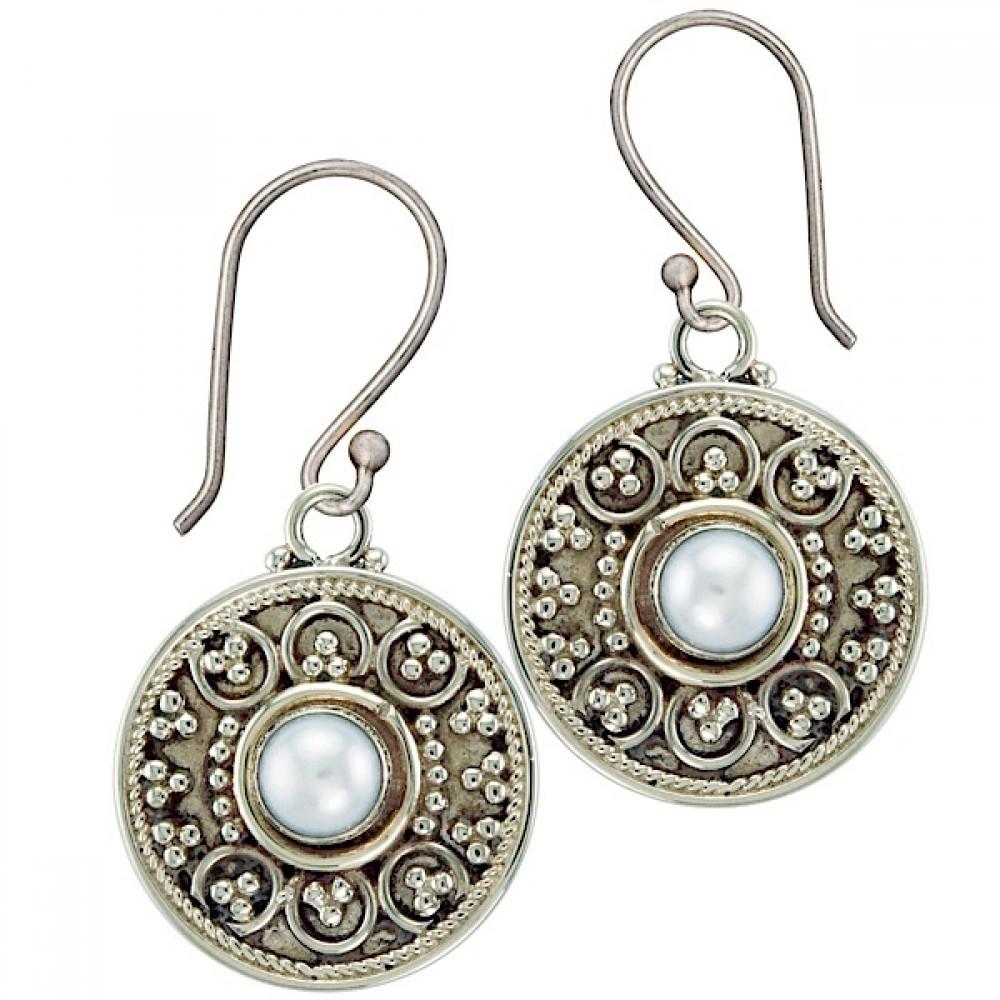 earings peru silver